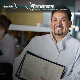 click to see details for Texas FoodGuard Online Course and Exam Third Edition