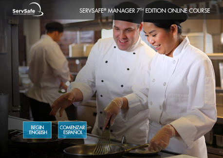 click to see details for ServSafe® Manager Online Course - 7th Edition