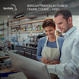 click to see details for ServSafe Person in Charge - Ohio