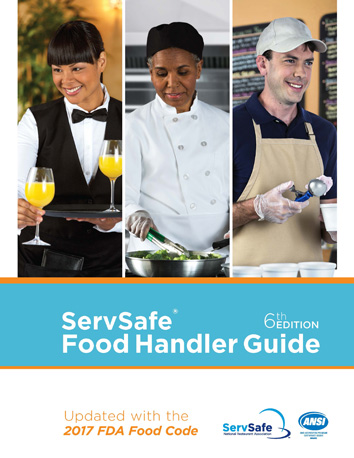 click to see details for ServSafe Food Handler Guide 6th Edition