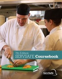 click to see details for ServSafe Coursebook 7th Ed, English