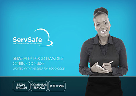 click to see details for ServSafe Food Handler Online Course and Assessment  BUNDLE -