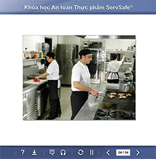 click to see details for ServSafe Food Safety Online Course – Vietnamese