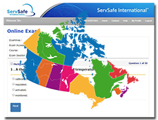 click to see details for ServSafe Food Safety Online Course and Exam – Canada (French)