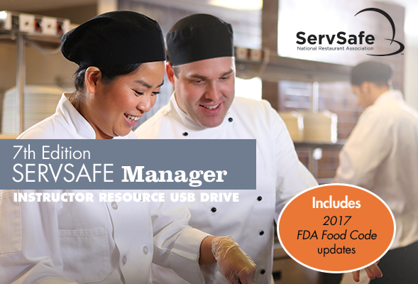 click to see details for ServSafe Manager Instructor Tools USB Drive, 7th Edition