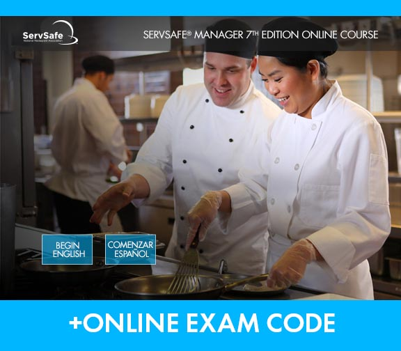 click to see details for ServSafe Manager Online Course and Exam, 7th Edition