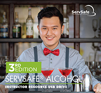 click to see details for ServSafe Alcohol Instructor Resource USB - 3rd Edition