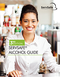 click to see details for ServSafe Alcohol Guide with Exam Answer Sheet 3rd Edition
