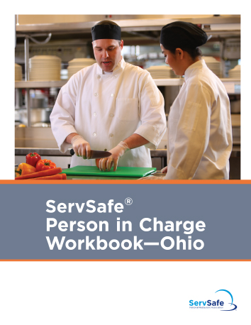 click to see details for ServSafe Person in Charge Workbook • Ohio
