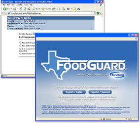 click to see details for Texas FoodGuard® Online Course and Exam
