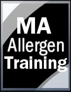 click to see details for Massachusetts Allergen Training