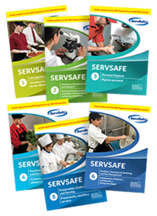 click to see details for ServSafe Complete Food Safety DVD - 6 Individual DVD's