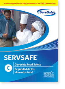 click to see details for ServSafe Complete Food Safety DVD - ISBN# 978158280257
