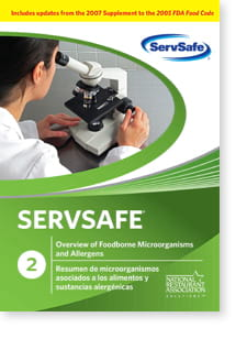 click to see details for ServSafe Overview of Foodborne Microorganisms & Allergens DVD -  ISBN#978-1-58280-252-7