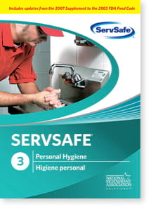 click to see details for ServSafe® Personal Hygiene DVD