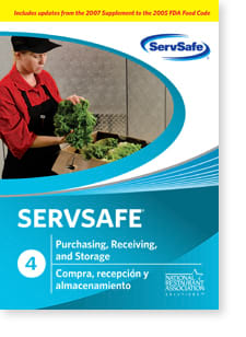 click to see details for ServSafe® Purchase, Receive, Store DVD