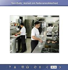 click to see details for ServSafe Food Safty Online Course - Danish