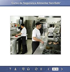 click to see details for ServSafe Online Course - Portuguese