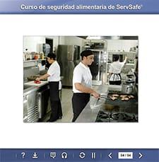 click to see details for ServSafe Food Safety Online Course - Spain
