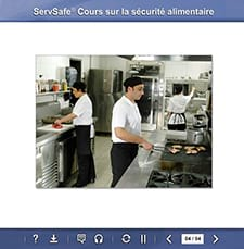 click to see details for ServSafe Food Safety Online Course – French