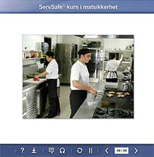 click to see details for ServSafe Food Safety Online Course -  Norwegian