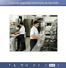 click to see details for ServSafe Food Safety Online Course - Spanish for Latin America