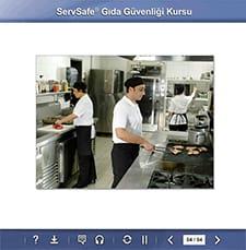 click to see details for ServSafe Food Safety Online Course - Turkish