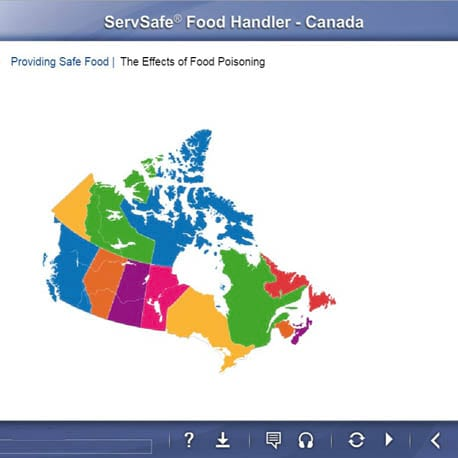 click to see details for ServSafe Food Safety Online Course – Canada (English)