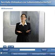 click to see details for ServSafe Food Safety Online Course – German.