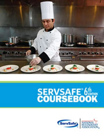 click to see details for ServSafe Coursebook 6th Ed, English