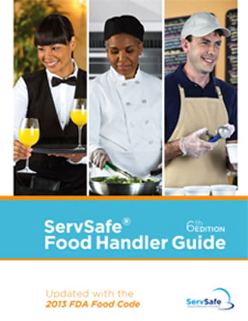click to see details for ServSafe Food Handler Guide - 10 pack