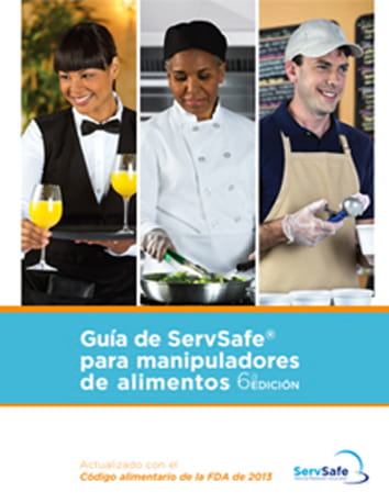 click to see details for ServSafe Food Handler Guide Spanish - 10 pack  2013 FDA Code