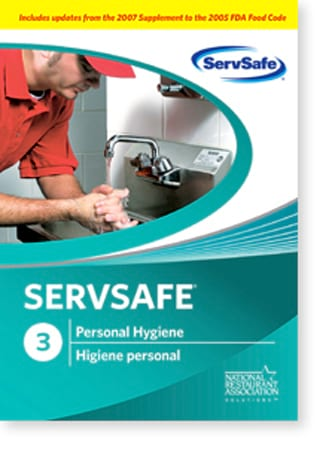 click to see details for ServSafe Personal Hygiene DVD - ISBN# 978-1-58280-253-4