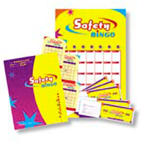 click to see details for Safety Bingo Game Kit