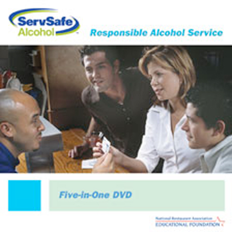 click to see details for ServSafe Alcohol All-in-One DVD