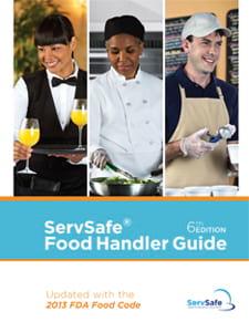 click to see details for ServSafe Food Handler® Guides