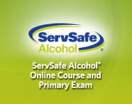 ServSafe Alcohol<sup>&reg;</sup> Online Course and Primary Exam